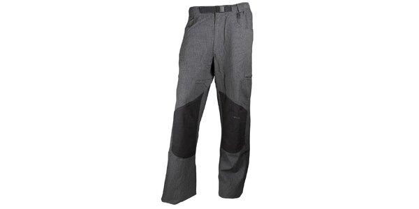 Pánské šedočerné trekové kalhoty Authority