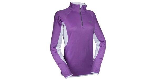 Dámské fialové rychloschnoucí tričko Authority