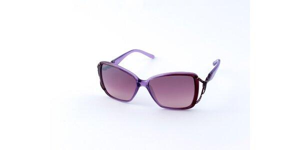 Dámské světle fialové sluneční brýle Guess