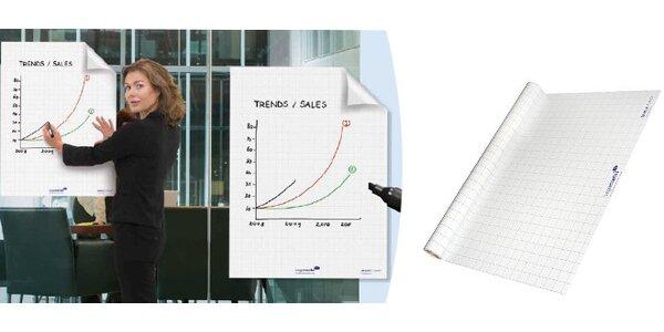 Popisovatelná folie Magic-Chart - flipchart kdykoli a kdekoli