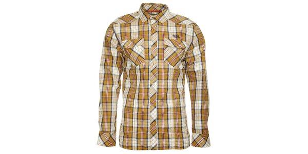 Pánská kostkovaná košile s dlouhým rukávem Timeout