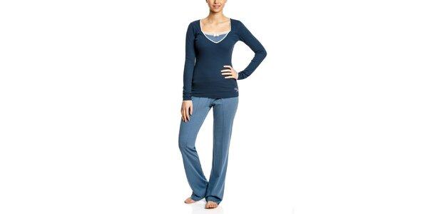 Dámské modré pyžamo Vive Maria