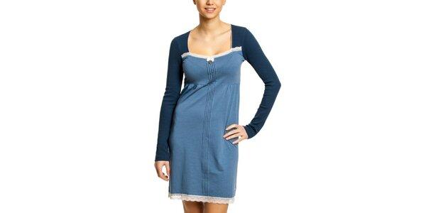 Dámská modrá noční košile Vive Maria