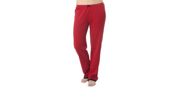 Dámské červené pyžamové kalhoty Vive Maria