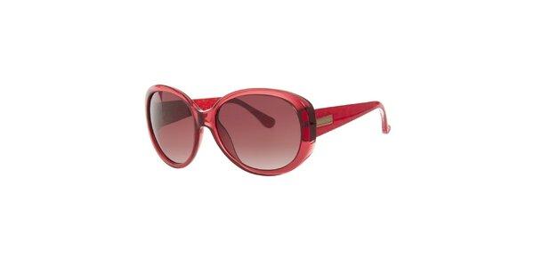 Dámské tmavě červené sluneční brýle Michael Kors