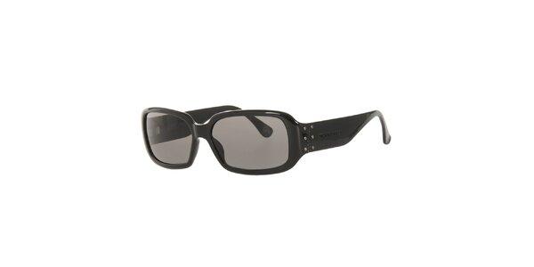 Dámské černé sluneční brýle Michael Kors s širokými stranicemi