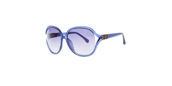 Modré oválné sluneční brýle Michael Kors
