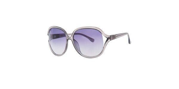 Dámské šedé oválné sluneční brýle Michael Kors