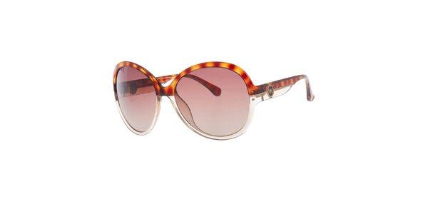 Dámské transparentně-žíhané sluneční brýle Michael Kors