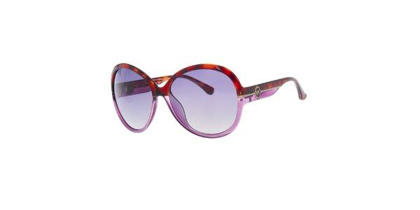 Dámské fialovo-žíhané sluneční brýle Michael Kors