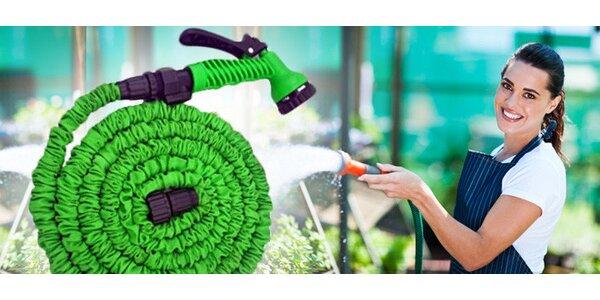 Smršťovací zahradní hadice s příslušenstvím