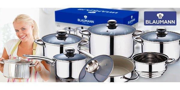 Velká sada nerezového nádobí Blaumann