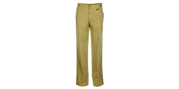 Pánské světle béžové chino kalhoty Bushman