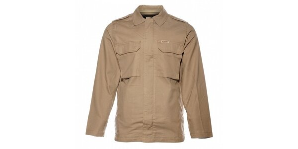 Pánská béžová bunda Bushman