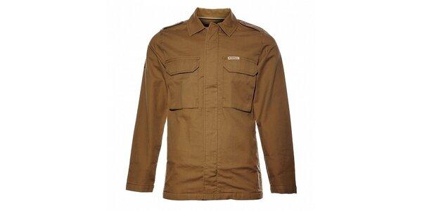 Pánská oříškově hnědá bunda Bushman