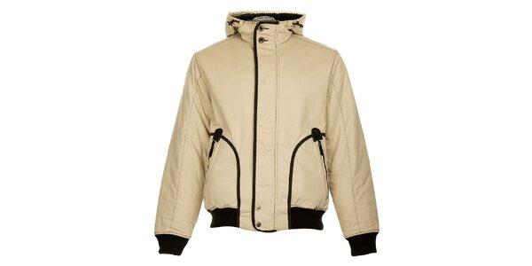 Pánská béžová zimní bunda Bushman