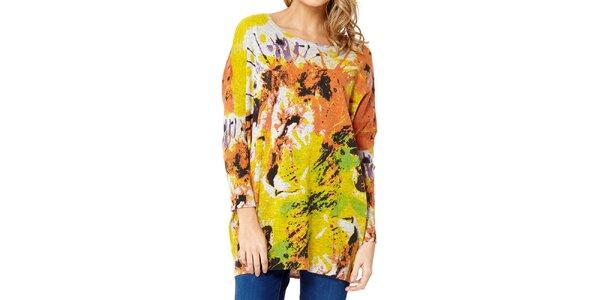 Dámský svetr s barevným lvem Miss Jolie