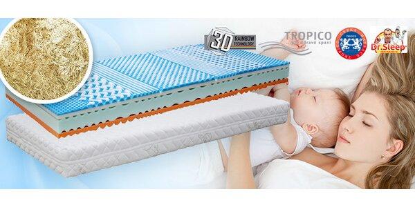 Výprodej rodinné matrace Tropico Soft Sleep. 1+1 zdarma