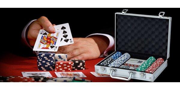 Kompletní sada na hraní pokeru