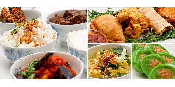 335 Kč za skvostné menu pro dva v indonéské restauraci Jáva Restaurant!