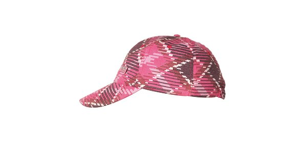 Růžová kšiltovka značky Envy se vzorem