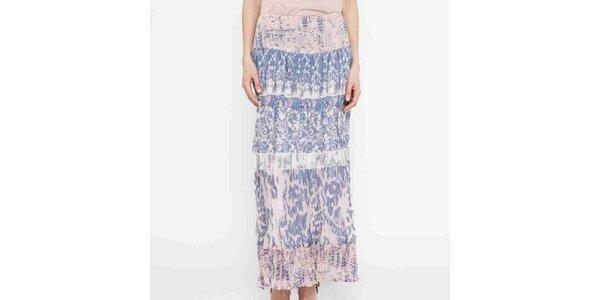 Dámská sukně s květinovým vzorem Mahal