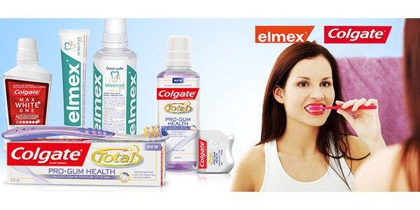 Colgate Total Pro Gum Health balíček - 2xpasta+voda+kartáček+nit