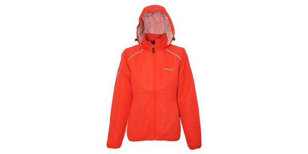 Oranžová dámská streetová bunda Envy