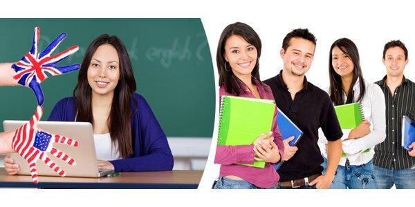 Měsíční e-learningový kurz Angličtina na dovolenou, osobní lektor