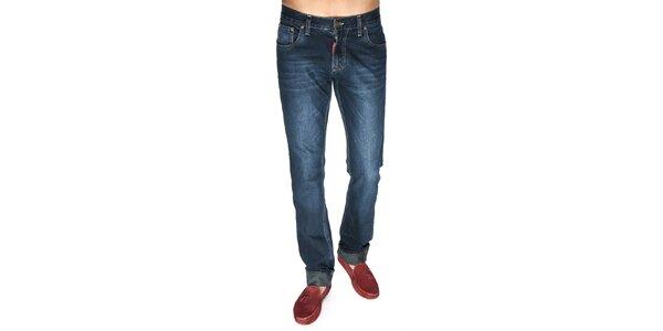 Pánské džíny v tmavě modrém odstínu Giorgio di Mare