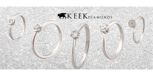 Luxusní prsteny s pravým diamantem