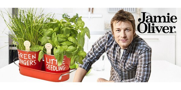 Sada na pěstování bylinek Jamie Oliver