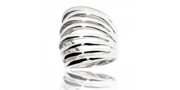 Dámský stříbrný prsten Bague a Dames