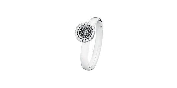 Dámský prstýnek s kvítkem Spinning