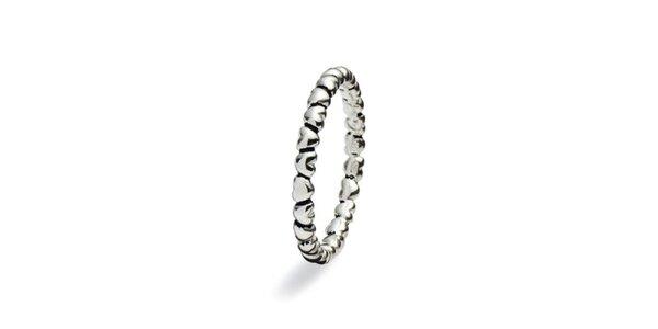 Dámský reliéfní prstýnek Spinning