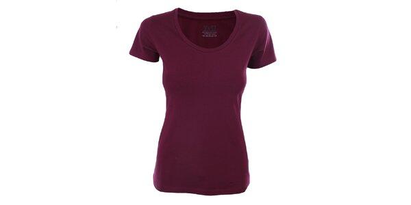 Dámské ostružinové tričko s krátkým rukávem YU Feelwear