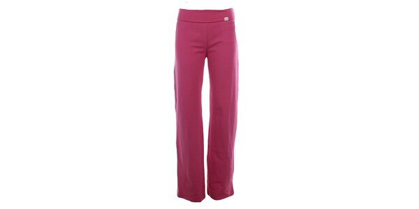 Dámské růžové sportovní kalhoty YU Feelwear
