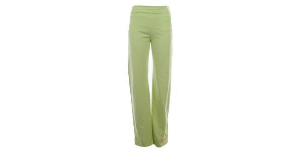Dámské limetkově zelené sportovní kalhoty YU Feelwear