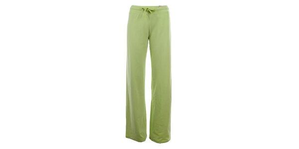 Dámské limetkově zelené tepláky YU Feelwear