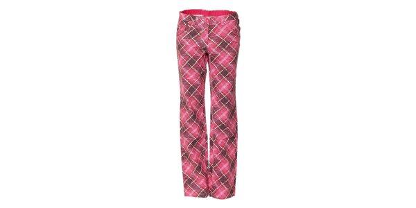 Dámské vycházkové kalhoty Envy v růžové barvě