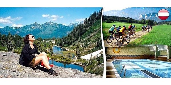 Wellness a turistická dovolená v rakouských Alpách