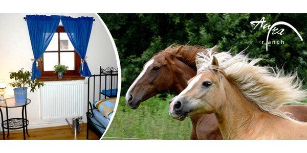 Pobyt na ranči Aura s vyjížďkami na koních