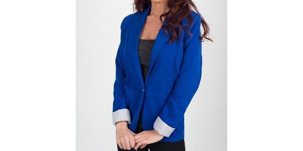 Dámské kobaltově modré sako Chaser