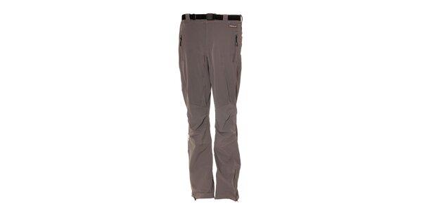 Dámské softshell elastické kalhoty Envy v šedé barvě