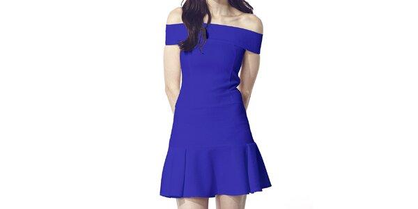 Dámské modré šaty Liquorish