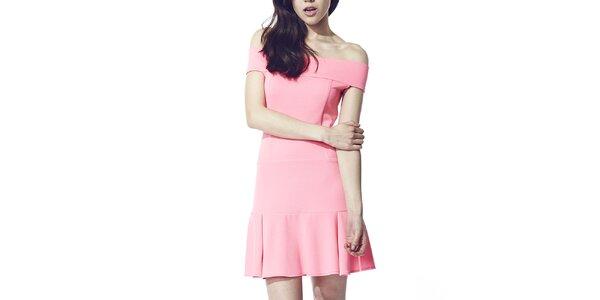 Dámské růžové šaty Liquorish