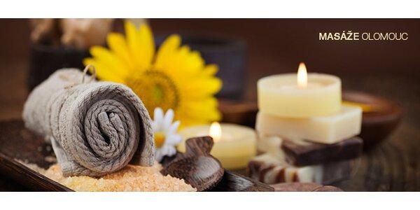 60 minut blahodárné regenerační masáže