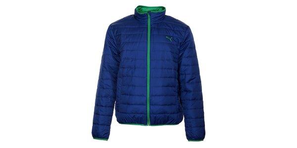 Pánská zářivě modrá zimní prošívaná bunda Puma