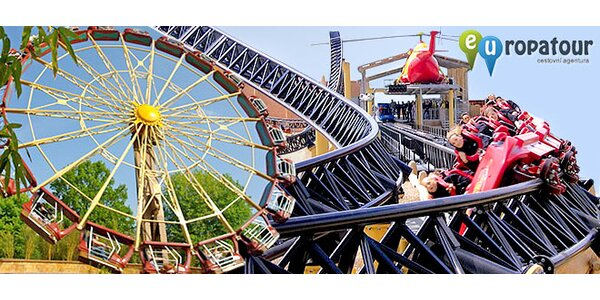 Víkendový výlet plný zážitků v německém zábavním parku