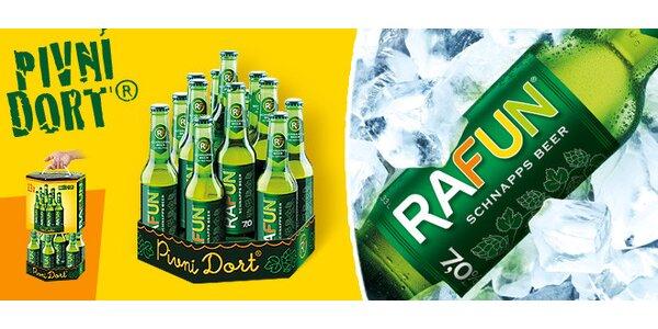 Pivní dort RAFUN - 13 piv nabitých alkoholem